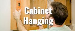 Handyman Hattiesburg hanging cabinets in ktichen