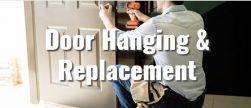 Handyman in Hattiesburg MS replacing door